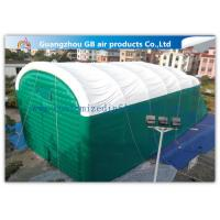 Wholesale 0.9mm Pvc Tarpaulin Green Inflatable Air Tent For Family Outdoor Events from china suppliers
