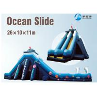 Wholesale Giant PVC Inflatable Ocean Slide Customized Color With 3 Years Warranty from china suppliers