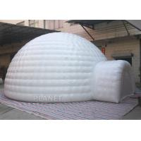 China Giant Inflatable Igloo Tent , White 3.5 M Height Inflatable Outdoor Tent on sale