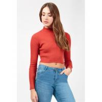 Quality Women Spring Long Sleeve Red Blouse for sale