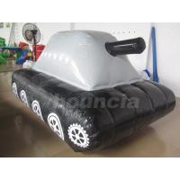 Wholesale 0.6mm / 0.9mm PVC Tarpaulin Fabric  Inflatable Military Tank for Paintball Sport from china suppliers