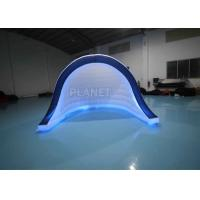 China Oxford Cloth White Inflatable Photo Booth Cabinet Tent For Event on sale