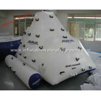 Wholesale Adults Inflatable Floating Iceberg AVIVA Inflatable Rock Climbing Wall Commercial Use from china suppliers