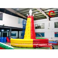 China Huge Inflatable Climbing Wall , Mountain Inflatable Rock Climbing Wall on sale