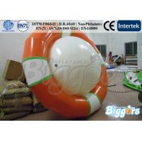 Wholesale 3.6m Inflatable Water Game Rocker Saturn Water Global Floating UFO For Amusement Park from china suppliers
