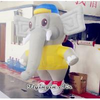 Wholesale Cute Cartoon Inflatable Puppet, 2m Height Inflatable Elephant for Sale from china suppliers