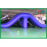 Wholesale Childrens Water Park Inflatable Water Toys , PVC Funny Swimming Pool Slides from china suppliers