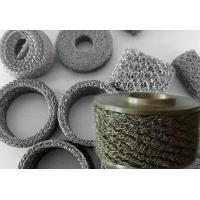 Wholesale Crochet Weaving Compressed Knitted Wire Mesh Air Gap Spacer For Exhaust System from china suppliers