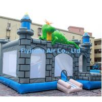 China New Children's Paradise Dinosaurs Bounce Inflatable Jumping Castle for Sale on sale
