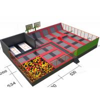 Wholesale CE Compliant Commercial Grade Trampoline Outdoor / Indoor Jumping City Facility from china suppliers