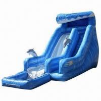Wholesale Inflatable water pool slide for outdoor use, weighs 250kg/piece from china suppliers