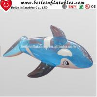 Wholesale Hot sale blue shark shaped funny Inflatable cartoon from china suppliers