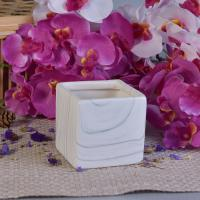 Wholesale Popular Hydrographics Transfer Printing Square Ceramic Candle Holders from china suppliers