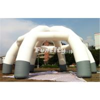 Wholesale Durable 0.6mm PVC Tarpaulin Inflatable Car Tent Outdoor / Dome Tent Rental from china suppliers