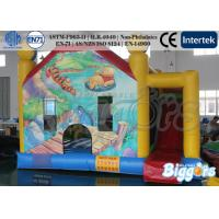 Wholesale Commercial Inflatable Bouncy Castle With Slide Winnie And Junping Tiger from china suppliers