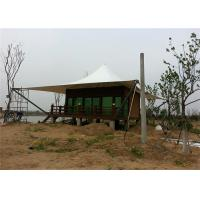 China PVDF Or PTFE Glamping Hotel Tent Tensile Structure Architecture For Resort on sale
