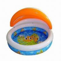 China Inflatable Baby Swimming Pool with Shadow on sale
