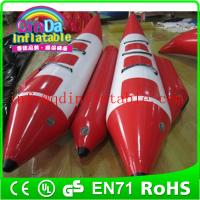 Wholesale Team water sports summer hot floating fly fish inflatable banana boat for sale from china suppliers