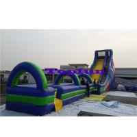 Wholesale Gaint Inflatable Water Slide Outdoor Amusement Park / Beach Sliding Games from china suppliers