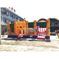 Wholesale Fire - resistant Big Inflatable Bounce House With Slide Combo SCT EN71 from china suppliers