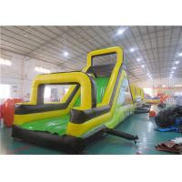 China Children Inflatable Rock Climbing Wall, Inflatable Obstacles Challenge Games on sale