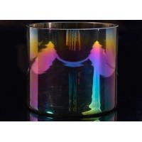 Wholesale Popular Decor Candle Holder Glass Replacement Luxury Iridescent Straight Side from china suppliers