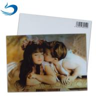 Buy cheap Fashion Eco - Friendly 3D Plastic Cards / Lenticular Postcard Printing from wholesalers