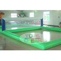 Wholesale Transparent Rectangle Inflatable Water Toys For Volley Sport 0.9MM PVC from china suppliers