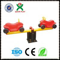 China Kindergarten Playground Padding Used Kids Seesaw for Sale / Car Type Baby Seesaw QX-096F on sale