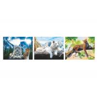 Buy cheap Wild Animal Flip Effect 3D Lenticular Printing Services PET/PP Lenticular Picture from wholesalers