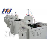 Wholesale Small Size Profile Plastic Sheet Cutting Machine Pneumatic Type Cutter With Saw from china suppliers