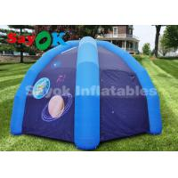 Quality Giant Inflatable Spider Tent Camping With Air Blower For Exhibition / Trade Show for sale