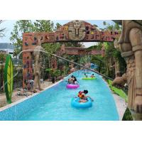 Wholesale Funny Water Park Lazy River , Children And Adults Lazy River Swimming Pool from china suppliers