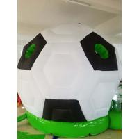 China Commercial Inflatables Soccer Ball Bounce House For Kids Inflatable Children's Paradise on sale