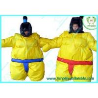 Wholesale Yellow Adult Sumo Suits (HI0701001) from china suppliers