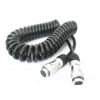 Wholesale TPU Jacket Retractable Coil Cord For Truck Trailer Power Signal Transmission from china suppliers
