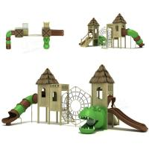 Wholesale 1050x490x450cm Dize Jurassic Park Slide Scene Simulation Amusement Equipment from china suppliers