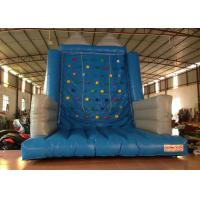 Wholesale Kindergarten School Inflatable Rock Climbing Wall Double Stitching 5 X 5 X 6m from china suppliers