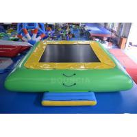 Wholesale Water Park Commercial Grade PVC Inflatable Water Trampoline For Kids / Adults from china suppliers