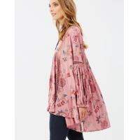 Quality Boho Style Women Floral Printed Blouse for sale
