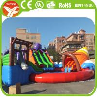 Buy cheap Giant inflatable water slide for adult inflatable slide from wholesalers