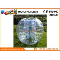 Wholesale 1.2m Diameter Bumper Soccer Inflatable Zorb Ball With Silk Paiting Logo from china suppliers