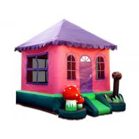 China CE Commercial Small / Mini Pink Inflatable Bouncer Rental For Party Event on sale