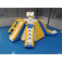 Wholesale Multifunction Inflatable Water Tower For Lake Park 0.9mm PVC Tarpaulin Material from china suppliers
