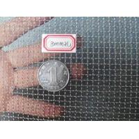 Quality Stainless Steel 304 Square Woven Wire Mesh with Bullet Proof Crimped Screen for sale