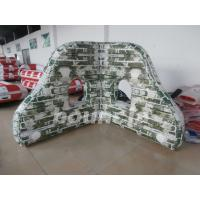 Wholesale PVC tarpaulin Mossy Inflatable Paintball Bunkers For Paintball Sports from china suppliers