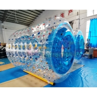 Wholesale Transparent 0.55mm PVC Inflatable Rolling Ball Water Walking from china suppliers