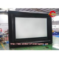 Wholesale Airblown Inflatable Movie Screen For Family Gatherings / Commercial Displays from china suppliers