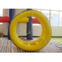 Quality Adults Inflatable Water Games Floating Wheel Roller For Entertainment for sale