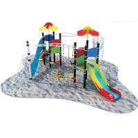 Wholesale Children Playground Climbing Wall with International Steel Column in Shopping Mall A-17501 from china suppliers